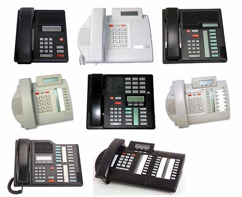 Nortel M-series phones